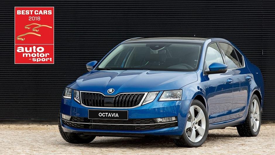 Best Cars 2018. ŠKODA Oktavia