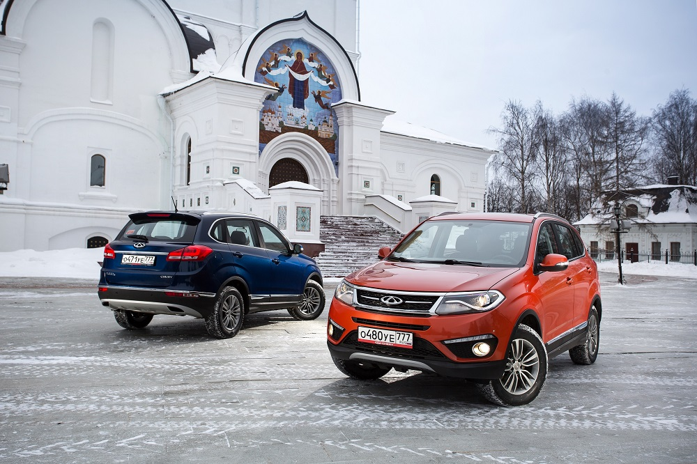 CHERY в России