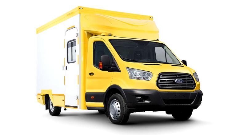 Ford Sollers создала гримваген на базе Transit для съемок сериалов