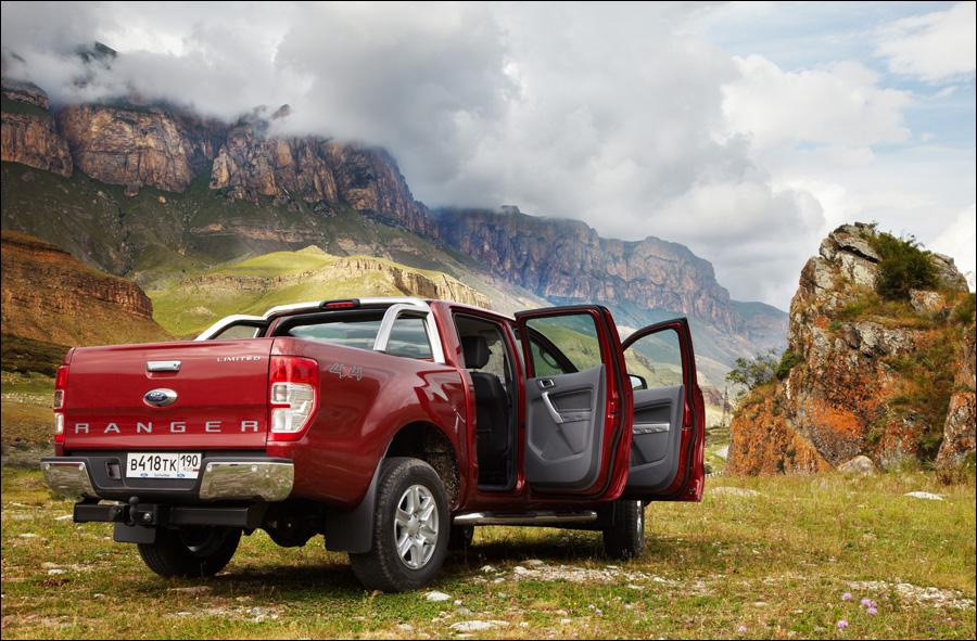 Ford Ranger: После брифинга и обеда мы продолжаем свой путь к Эльбрусу