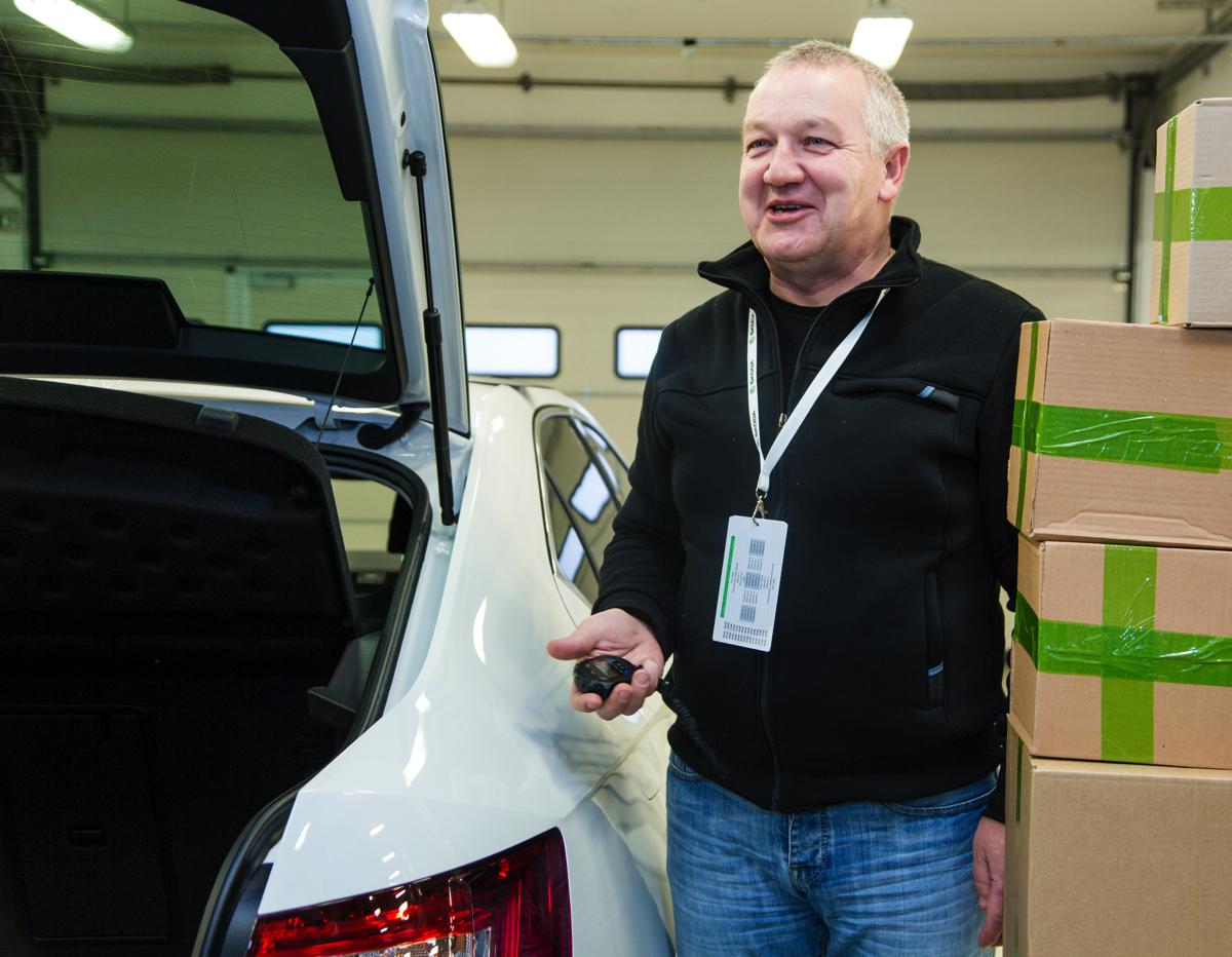 Skoda: Тетрис в багажнике