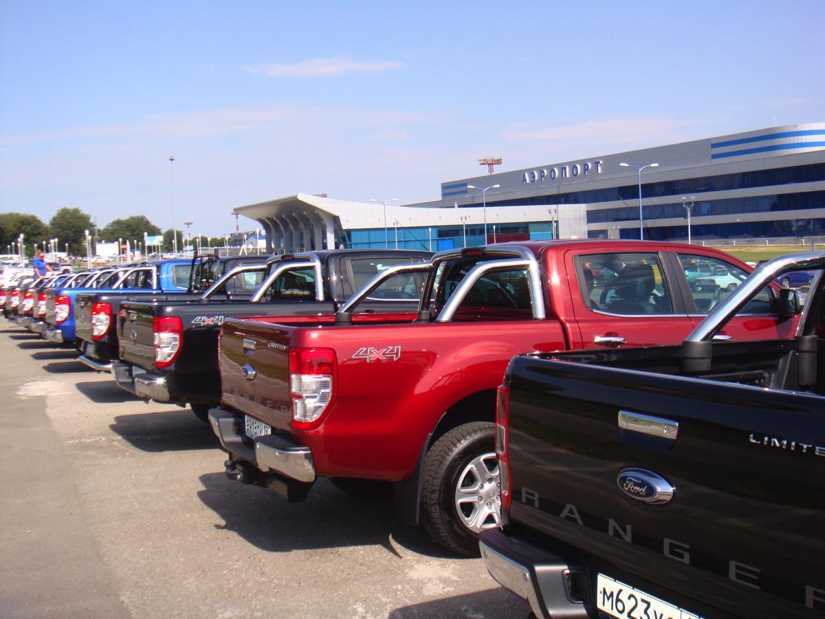 Ford Ranger: Через три дня встречаем участников в аэропорту МинВод