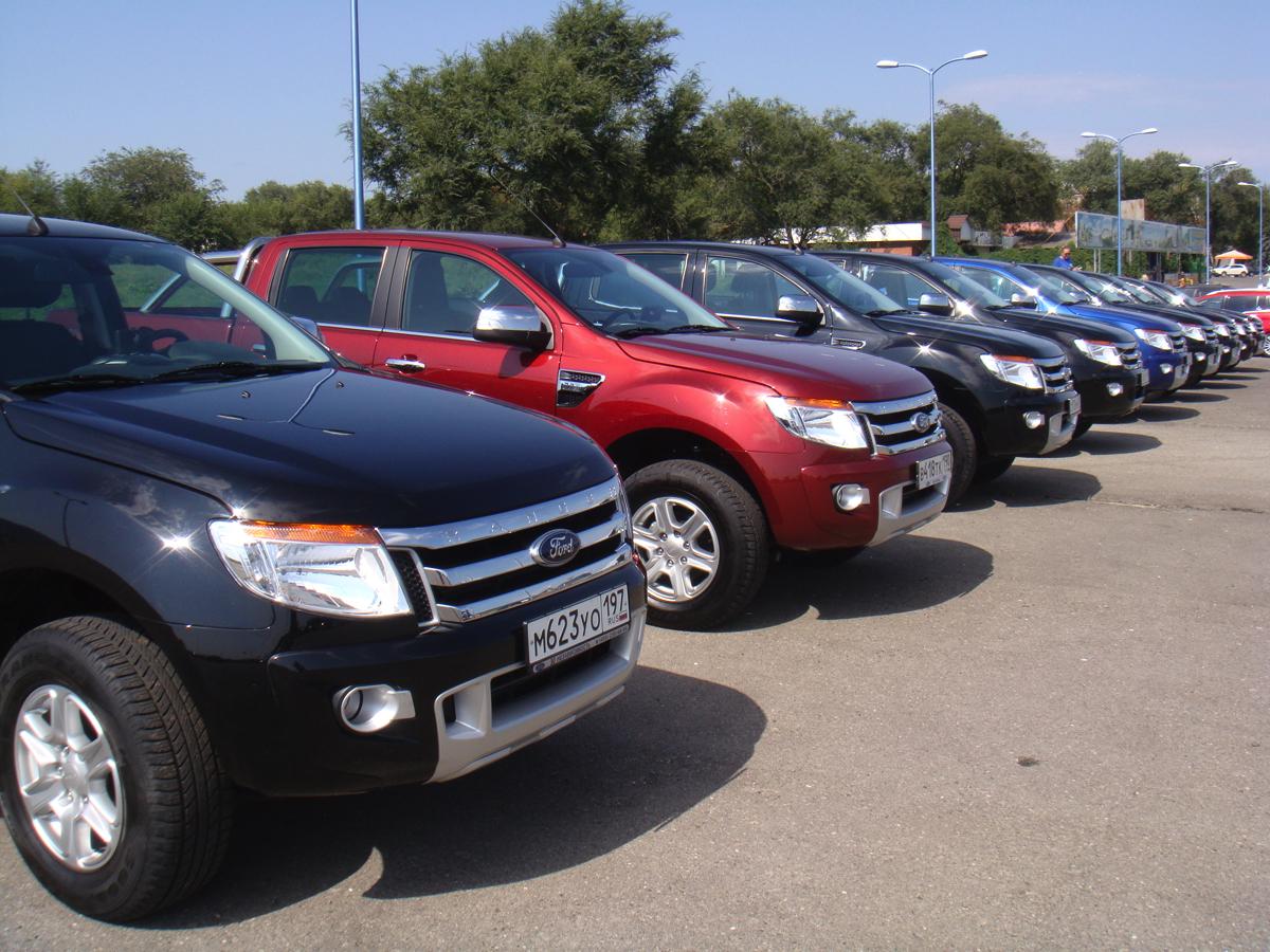 Ford Ranger: Ford Ranger: Через три дня встречаем участников в аэропорту МинВод