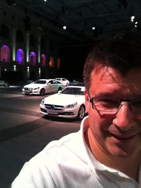 Вадим Шитко: Выход из ситуации был найден «на потолке», где весели монтировались конструкции для освещения зала