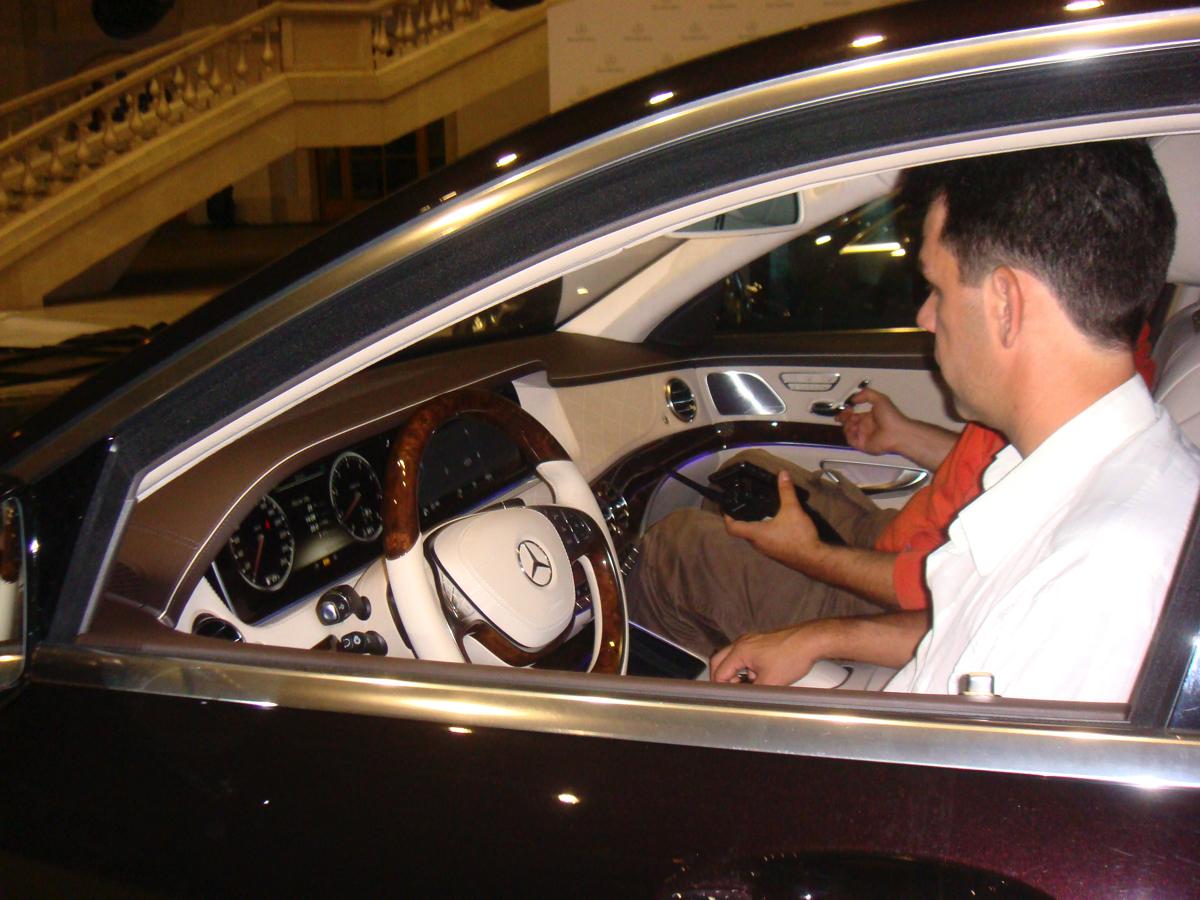 Задачи Презентации: Приемка автомобилей Mercedes Benz S-Class у перевозчика