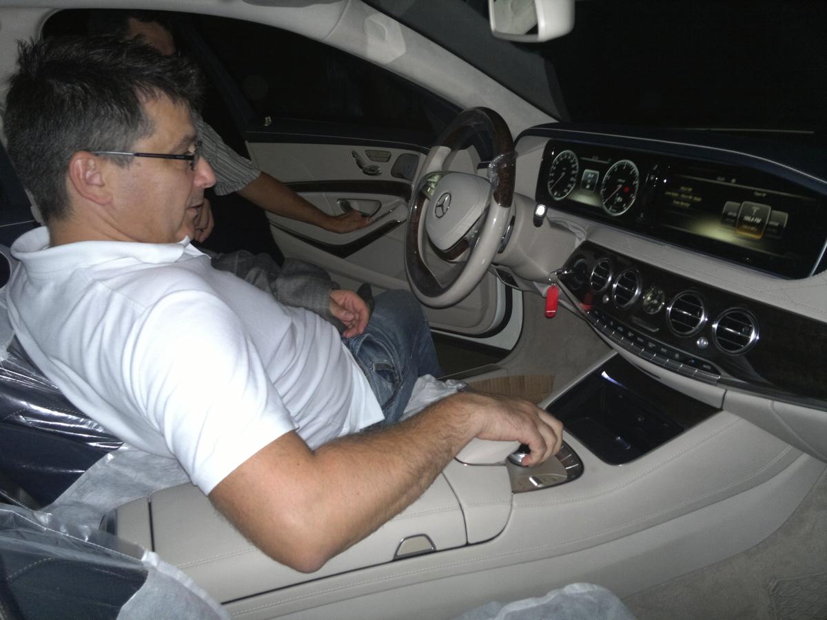 Вадим Шитко. Задачи Презентации: Приемка автомобилей Mercedes Benz S-Class у перевозчика