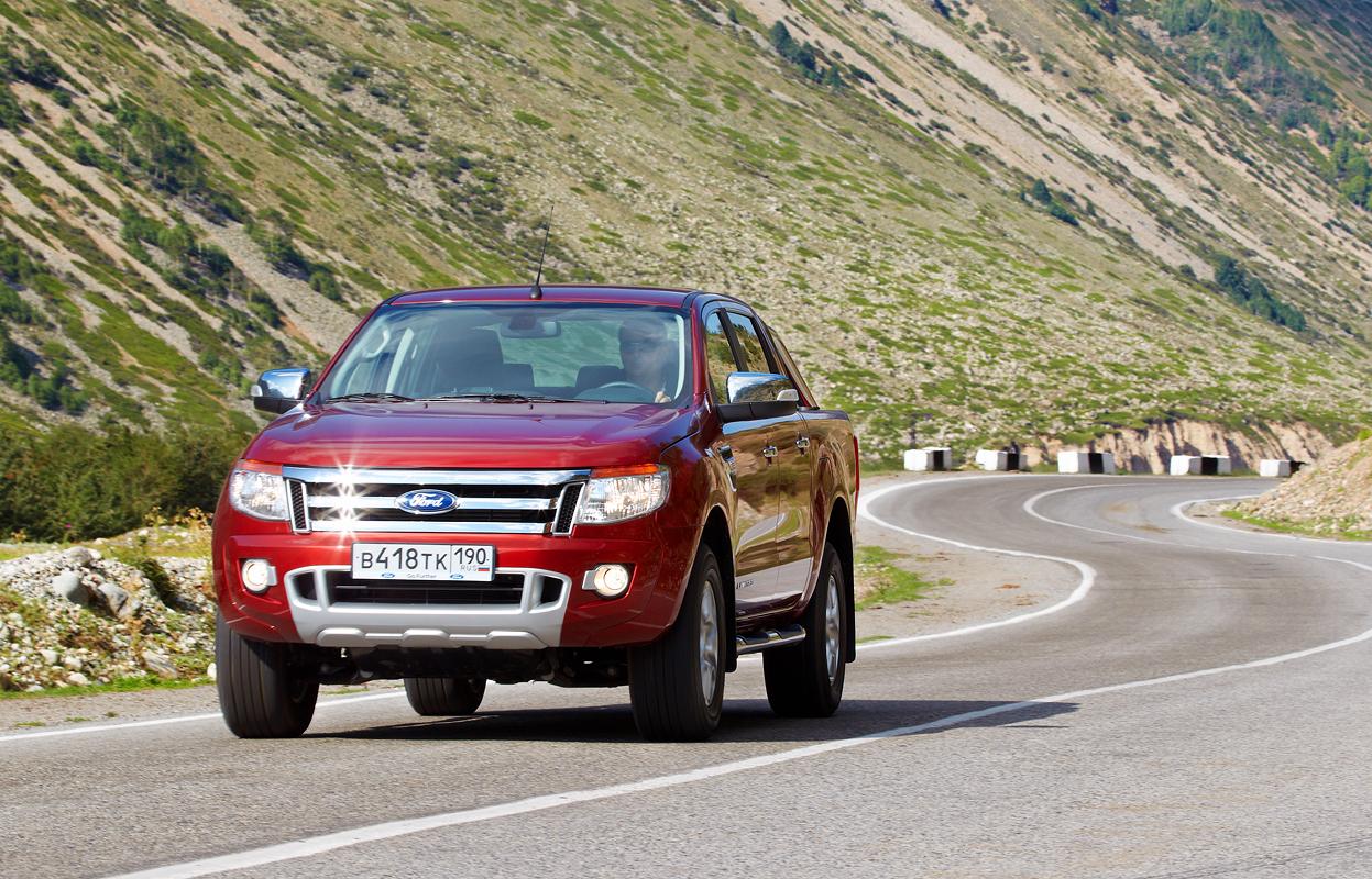 Ford Ranger: Около 150 км (не рекомендуется делать пробеги более 200 км в день) дороги с удивительными пейзажами, порой напоминающими то Кодры Молдовы, то Гранд каньон