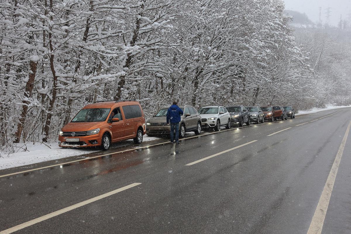 Дилерский тренинг VW. Непредсказуемая погода в Сочи в это время годачасто вносили свои коррективы в процесс подготовки, а главное во время прохождения проекта