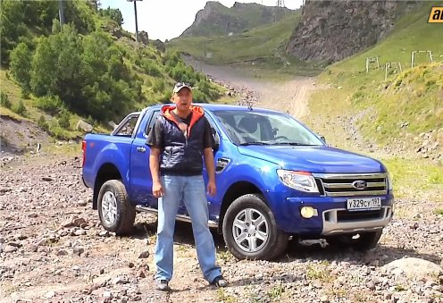 Ford Ranger, Вадим Шитко: фотосессия у подножья Эльбруса