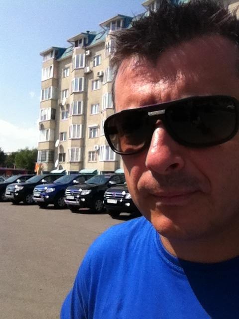 Вадим Шитко, Ford Ranger: А мы вновь натираем автомобили)