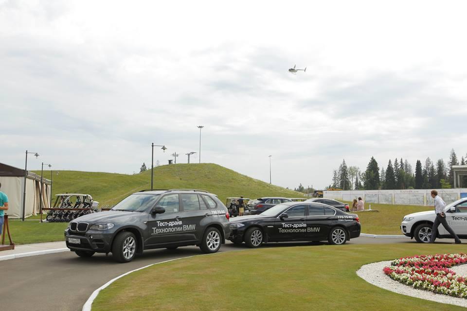 презентация BMW 6 Coupe: И все должно быть на высшем уровне. И площадка, и фуршет, и тест-драйв