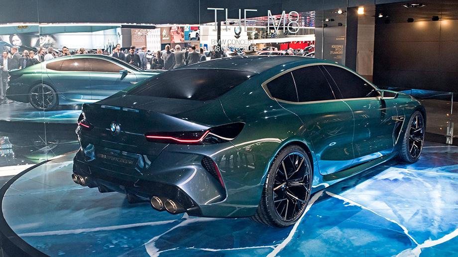 Концепт BMW M8 Gran Coupe