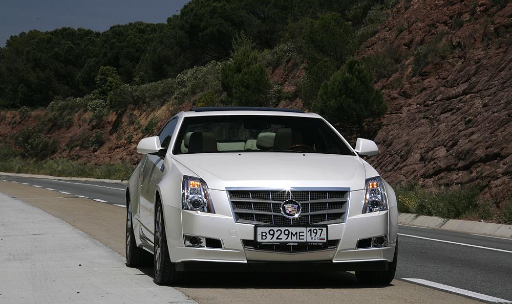 Cadillac CTS Coupe Пресс-тур